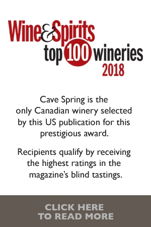 Cave Spring - Wine and Spirits Top 100 wineries